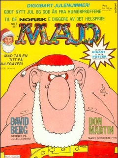 Go to MAD Magazine #4 1980 • Norway • 2nd Edition - Semic
