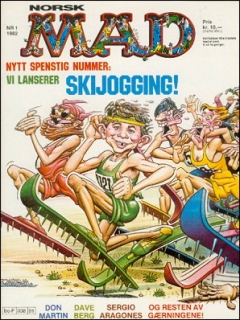 Go to MAD Magazine #1 1981 • Norway • 2nd Edition - Semic