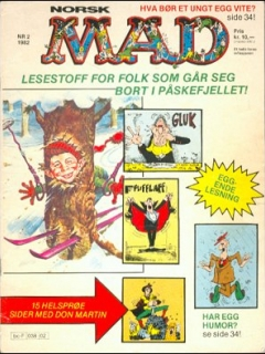Go to MAD Magazine #2 1981 • Norway • 2nd Edition - Semic