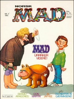 Go to MAD Magazine #5 1981 • Norway • 2nd Edition - Semic
