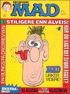 MAD Magazine #7 • Norway • 2nd Edition - Semic