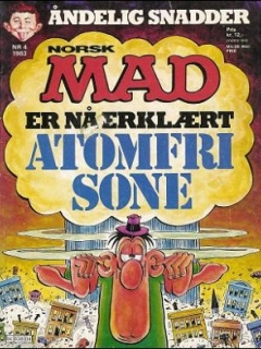 Go to MAD Magazine #4 1982 • Norway • 2nd Edition - Semic