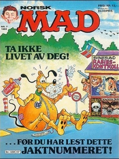 Go to MAD Magazine #7 1982 • Norway • 2nd Edition - Semic
