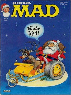 MAD Magazine #21 • Norway • 2nd Edition - Semic