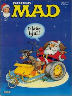 MAD Magazine #21 • Norway • 2nd Edition - Semic