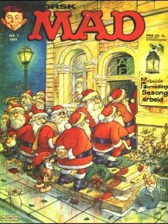 Go to MAD Magazine #1 1983 • Norway • 2nd Edition - Semic