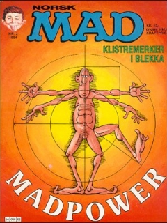 Go to MAD Magazine #2 1983 • Norway • 2nd Edition - Semic