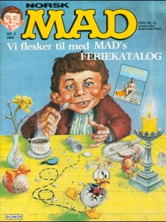 Go to MAD Magazine #3 1983 • Norway • 2nd Edition - Semic