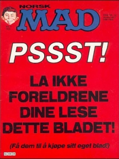 Go to MAD Magazine #4 1983 • Norway • 2nd Edition - Semic