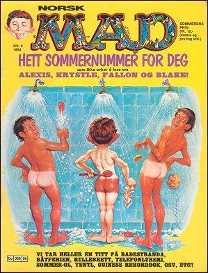 MAD Magazine #6 • Norway • 2nd Edition - Semic