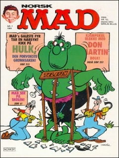 Go to MAD Magazine #7 1983 • Norway • 2nd Edition - Semic