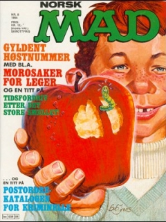 Go to MAD Magazine #8 1983 • Norway • 2nd Edition - Semic