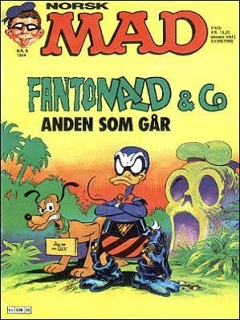 Go to MAD Magazine #30 • Norway • 2nd Edition - Semic