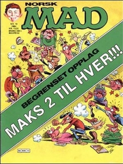 Go to MAD Magazine #10 1983 • Norway • 2nd Edition - Semic