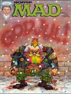 Go to MAD Magazine #11 1983 • Norway • 2nd Edition - Semic