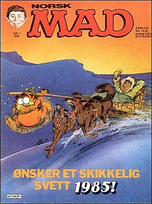 MAD Magazine #33 • Norway • 2nd Edition - Semic
