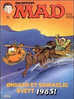 Go to MAD Magazine #1 1984 • Norway • 2nd Edition - Semic