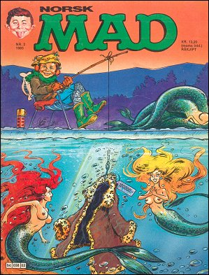 MAD Magazine #34 • Norway • 2nd Edition - Semic
