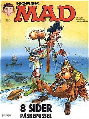 MAD Magazine #35 • Norway • 2nd Edition - Semic