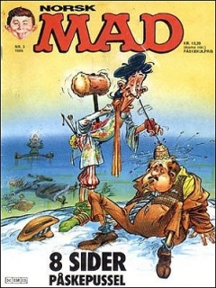 Go to MAD Magazine #3 1984 • Norway • 2nd Edition - Semic