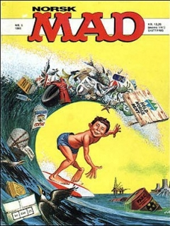 Go to MAD Magazine #5 1984 • Norway • 2nd Edition - Semic