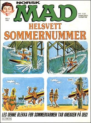 MAD Magazine #38 • Norway • 2nd Edition - Semic