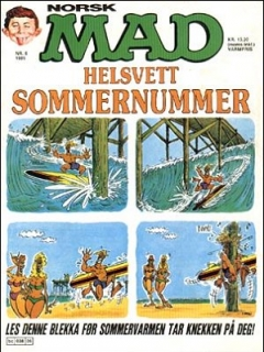 Go to MAD Magazine #6 1984 • Norway • 2nd Edition - Semic