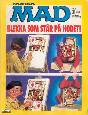 MAD Magazine #8 • Norway • 2nd Edition - Semic
