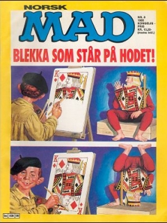 Go to MAD Magazine #8 1984 • Norway • 2nd Edition - Semic