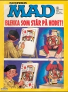 MAD Magazine #40 • Norway • 2nd Edition - Semic