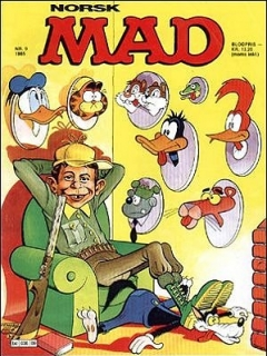 Go to MAD Magazine #9 1984 • Norway • 2nd Edition - Semic
