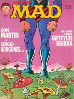 Go to MAD Magazine #10 1984 • Norway • 2nd Edition - Semic