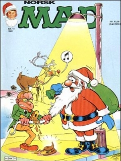 Go to MAD Magazine #11 1984 • Norway • 2nd Edition - Semic