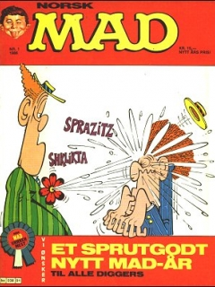 Go to MAD Magazine #1 1985 • Norway • 2nd Edition - Semic