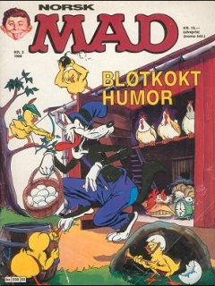 Go to MAD Magazine #3 1985 • Norway • 2nd Edition - Semic
