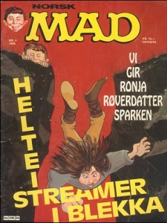 Go to MAD Magazine #4 1985 • Norway • 2nd Edition - Semic