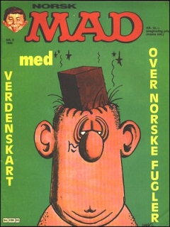 Go to MAD Magazine #5 1985 • Norway • 2nd Edition - Semic
