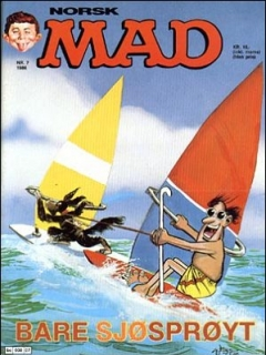 Go to MAD Magazine #7 1985 • Norway • 2nd Edition - Semic