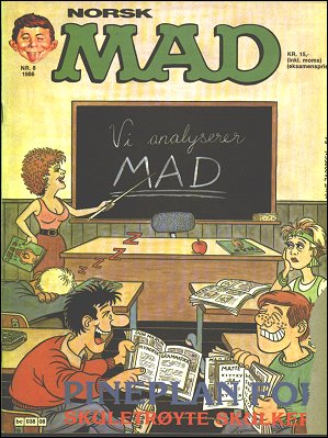 MAD Magazine #51 • Norway • 2nd Edition - Semic