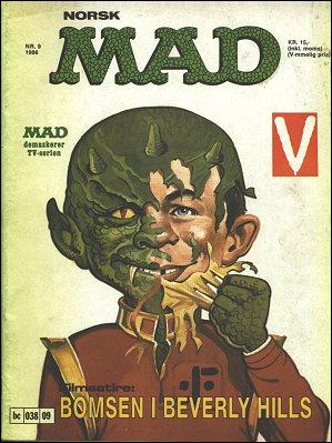 MAD Magazine #52 • Norway • 2nd Edition - Semic