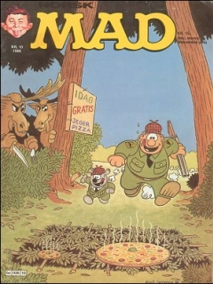 Go to MAD Magazine #10 1985 • Norway • 2nd Edition - Semic