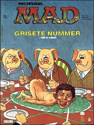MAD Magazine #54 • Norway • 2nd Edition - Semic