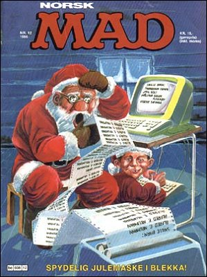 MAD Magazine #55 • Norway • 2nd Edition - Semic