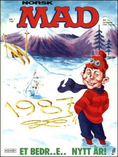 Go to MAD Magazine #1 1986 • Norway • 2nd Edition - Semic