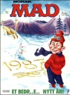 MAD Magazine #56 • Norway • 2nd Edition - Semic