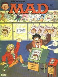 Go to MAD Magazine #2 1986 • Norway • 2nd Edition - Semic