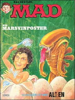 Go to MAD Magazine #3 1986 • Norway • 2nd Edition - Semic
