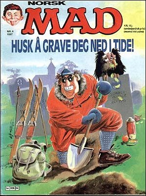 MAD Magazine #59 • Norway • 2nd Edition - Semic