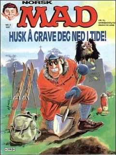 Go to MAD Magazine #4 1986 • Norway • 2nd Edition - Semic