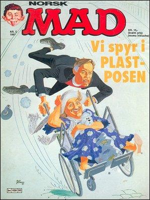 MAD Magazine #60 • Norway • 2nd Edition - Semic